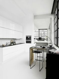 Kitchens in white