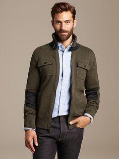 Heritage Sweater Jacket Product Image
