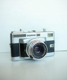 35Mm Camera | Vintage Voigtlander Vitessa T 35mm Camera with Case by carpebellus