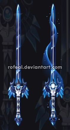 Auction(CLOSED) by Rofeal. on - Cool stuff/draw stuff - Militar Ninja Weapons, Anime Weapons, Fantasy Sword, Fantasy Art, Espada Anime, Armas Ninja, Arte Fashion, Cool Swords, Sword Design