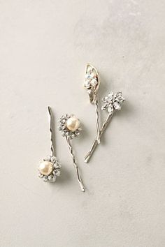 All That Remains pearl bobby pins from Anthro #pearls #hair accessories  Gorgeous!