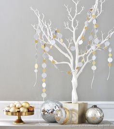 sparkle confetti garlands