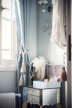 Vanity table in Paris apartment