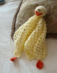 Duck Lovey ~ free pattern