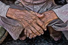 Working woman's hands - Vietnam