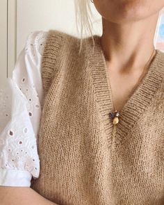 The Balloon Jacket – PetiteKnit Stockholm, Knit In The Round, Circular Needles, Yarn Shop, Sweater Knitting Patterns, Knit Vest, Stockinette, Neck Pattern, Diy Clothes