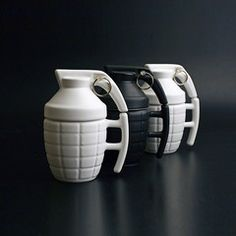 Check Price Creative Grenade Coffee Mugs Practical Water cup with Lid Funny Gifts Granada creativa taza de cafe
