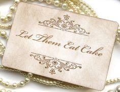 """Marie Antoinette """"Let them eat cake"""""""