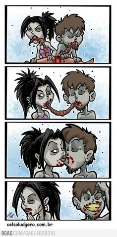 Awwwwwww! :) / Once we were zombies @DannyOLcf