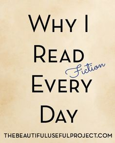How can reading fiction every day improve your life? Check out this article to see how reading for fun can actually help you!