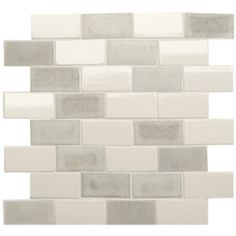 Silver Beach Brick - Glazed & Decorated - Shop by tile type - Wall & Floor Tiles | Fired Earth