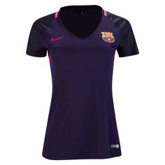 Barcelona 16/17 Women's Away Soccer Jersey     $89.99   Holiday Gift & Stocking Stuffer ideas for the FC Barcelona fan at WorldSoccerShop.com