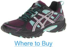 ASICS Women's GEL-Venture 4 Trail Running Shoe #ASICS #Womens #GEL_Venture #Trail #Running #Shoe