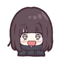 Kawaii Cute, Kawaii Anime, Anime Expressions, Cute Stories, Aiko, Cute Chibi, Line Sticker, Reaction Pictures, Emoticon