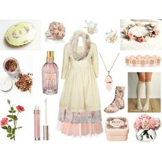 The Caged Bird by maggiehemlock on Polyvore featuring Milly, Chicwish, Charlotte Russe, Accessorize, Forever New, claire's, Wet Seal, Stila, L'Occitane and Free People