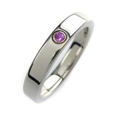Purple Diamond Ring. $299.00, via Ets