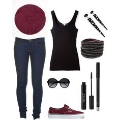 cutenfit.com cute outfits with vans (12) #cuteoutfits