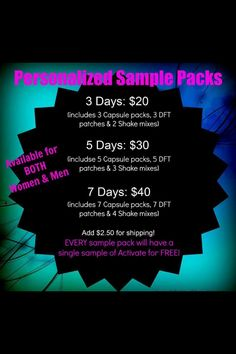 Do you have low energy, joint discomfort, brain fog, headaches, extra weight, or your not sleeping well? You need to take the Thrive Experience! I have samples packaged and ready to go!! http://tavadennis.le-vel.com