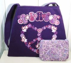 Hey, I found this really awesome Etsy listing at http://www.etsy.com/listing/118264477/peace-sign-purse-peace-sign-purple