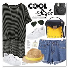 """Cool Style"" by oshint ❤ liked on Polyvore featuring adidas, Ray-Ban, Steve Madden, Miller Harris, awesome, amazing, romwe, fabulous and wonderful"