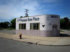 Best ham sandwich you'll ever eat.  Mike's Famous Ham Place, 3700 Michigan  Detroit, MI 48216