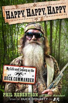 """Video of Phil Robertson from Duck Dynasty sharing his testimony - and is it GOOD! """"It's actually too wild a story to dream up by human beings, especially sinful ones."""""""
