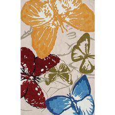 Outdoor Collection Monarch Area Rug - #V4643 | LampsPlus.com