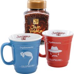 Juan Valdez Instant Coffee & Mug Set Bundle.  This is the BEST instant coffee I've tried.