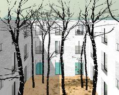 2008 [Kersten Geers David Van Severen] 25 Rooms Ordos, PRC