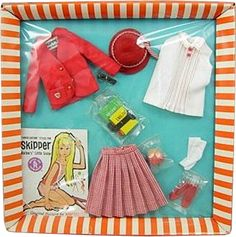 *1965 Fashion school girl Skipper outfit 2 #1921