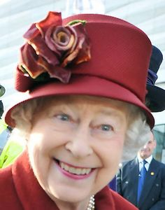 HRH Queen Elizabeth II receives a warm welcome as she visits the Museum of Liverpool at Mann Island