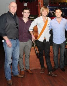 Keith performing with Celtic Thunder for Hurricane Sandy Victims - keith-harkin Photo