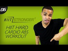 35 Min. HIIT: OUT-Standing Cardio Abs | HIIT/STRONGER 02: Day 06 - YouTube