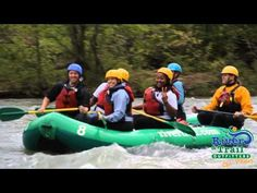 Packages for White Water rafting, tubing and zip lining with camping options available.