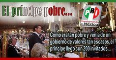 Video Inercial: El príncipe pobre. Visita del presidente mexicano Enrique Peña Nieto a Reino Unido... #Video #Comparte!!...