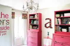 ikea furniture I love DIY IKEA hacks and projects that transform basic furniture into beautiful, creative pieces! Here are IKEA projects you can try for yourself! Ikea Furniture Hacks, Pink Furniture, Furniture Makeover, Ikea Hacks, Diy Hacks, Furniture Repair, Furniture Websites, Furniture Dolly, Furniture Assembly