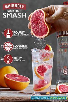 Smirnoff Soda Fruit Smash