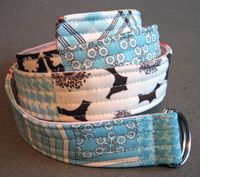 How to sew just about anything from journal covers, belts, aprons, fabric mobiles, etc...