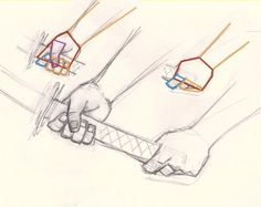 How to draw hand holding sword | Digital painting and drawing video tutorials and step by step