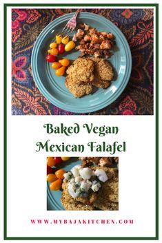 My Baja Kitchen - Healthy Baja Mediterranean Fusion Mexican Cuisine Mexican Appetizers, Quick Appetizers, Healthy Mexican Recipes, Vegan Recipes, High Fiber Foods, Tasty, Yummy Food, Falafel, Vegan Dinners