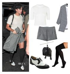 """""""Get the look for less: Katy Perry"""" by tricia-cand ❤ liked on Polyvore featuring Topshop, Hue, miim and Forever 21"""