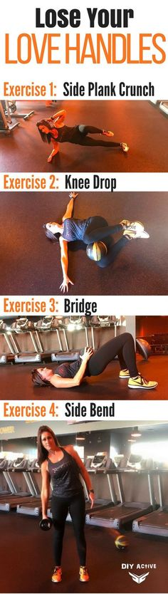 WORKOUT: Love Your Body, Lose Your Love Handles @DIYActiveHQ #fitness #workout #exercise #AtHomeFitness