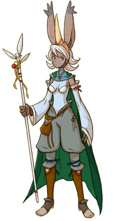 Viera Summoner - Characters & Art - Final Fantasy Tactics A2 ...