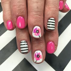 Delilah did an amazing job as always! The post Delilah did an amazing job as always! appeared first on nageldesign. Funky Nails, Glam Nails, Love Nails, How To Do Nails, Pretty Nails, My Nails, Creative Nail Designs, Gel Nail Designs, Creative Nails