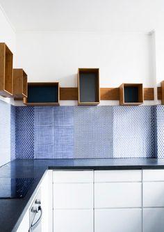 Beautiful wall treatment | made a mano