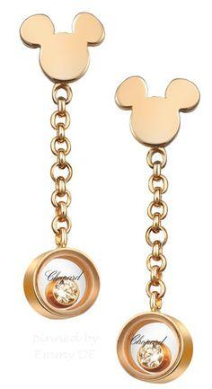 Emmy DE * Chopard Earrings ~ Happy Mickey