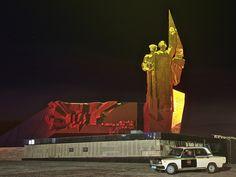 Monument near Shaktar Stadium, Donets'k, Ukraine by chuha, via Flickr