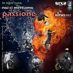 VIRUS BIKE rivenditore ufficiale SIXS. virusbike@libero.it