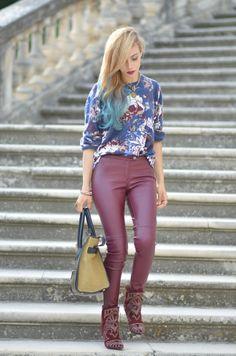 blogueuse Lilou tenue automne