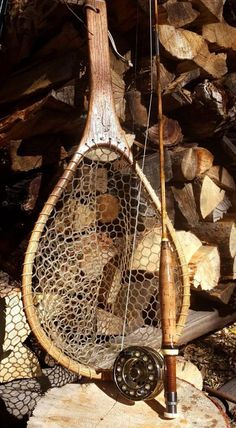 handmade fly fishing net by wmflyrodco on Etsy Fly Fishing Net, Trout Fishing Lures, Sea Fishing, Sport Fishing, Fishing Gifts, Women Fishing, Fishing Stuff, Salmon Fishing, Fishing Tackle